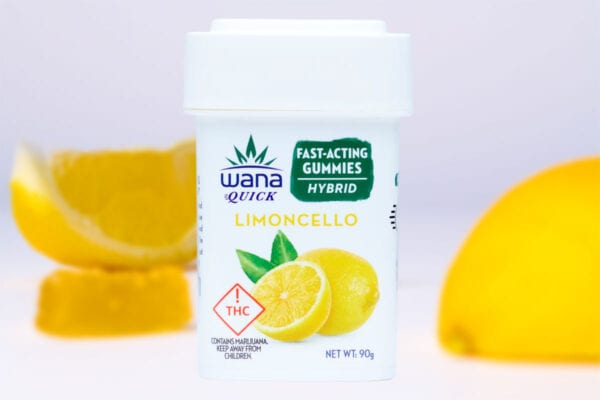 Wana Limoncello Hybrid Quick Gummies Arrive Just In Time For Summer!